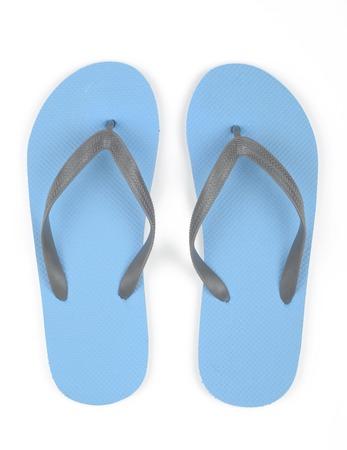 thongs: Blue thongs