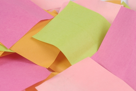 annotation: full frame of paper for notes of color