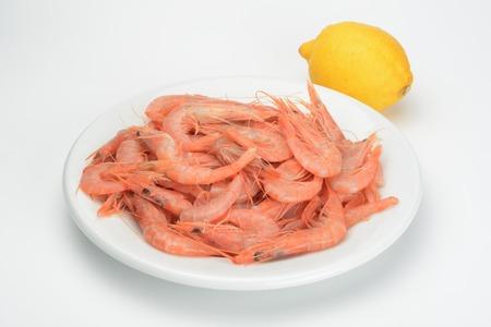 raw: raw prawns Stock Photo