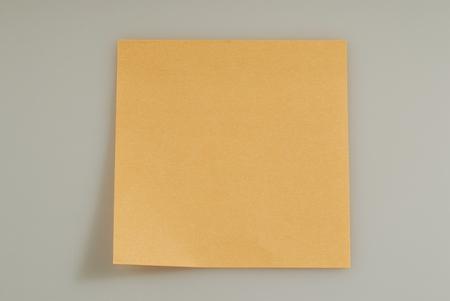 posit: ornge note paper or posit
