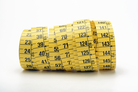 tailors: Tailors measuring tape coiled