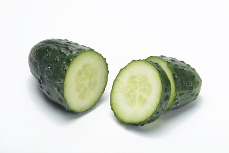 cucumbers: Sliced ??cucumbers