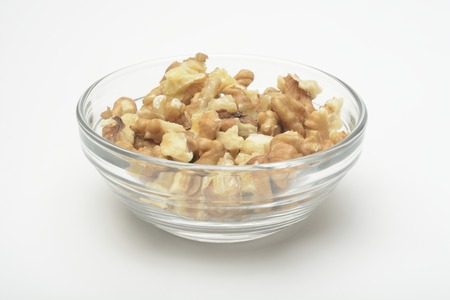cristal: Nuts in a cristal bowl