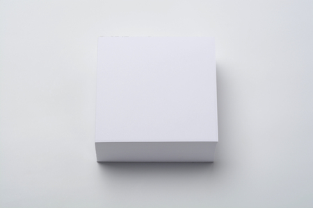 Taco blank notes, on white background