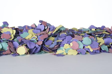 Detail of confetti for compositions