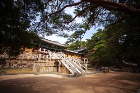 韓国で「仏国寺」
