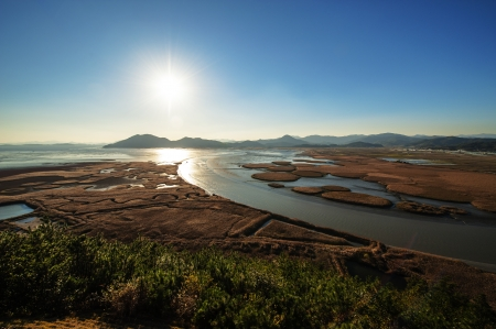 Beautiful landscape in South Korea,Suncheon