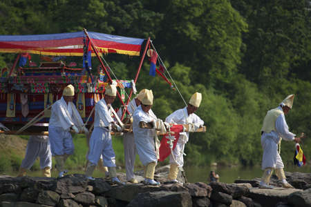 traditional festivals: Traditional festivals in south korea, traditional funeral,nongdari   Editorial
