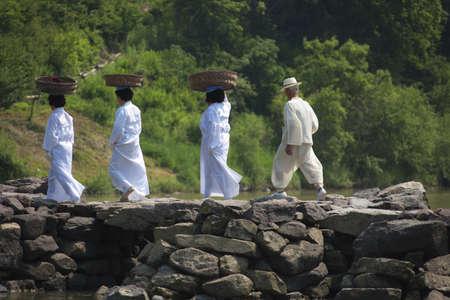 traditional festivals: Fiestas tradicionales en corea del sur, nongdari Editorial