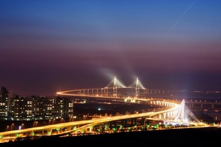 incheon: Beautiful bridge in South Korea,Incheon bridge