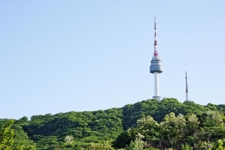 Namsan  Park Namsan Tower