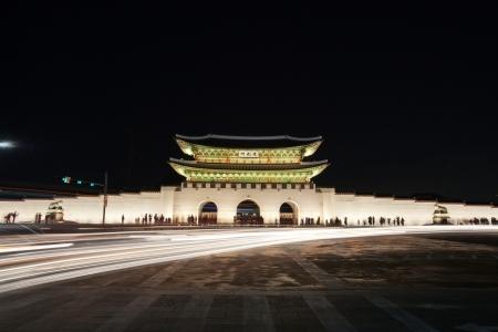 Gwanghwamun, Seoul  Stock Photo