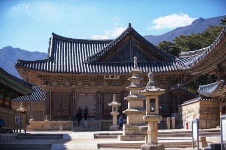 Tongdosa temples in south korea