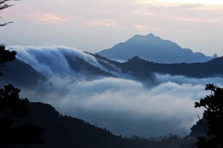 Beautiful autumn mountain in South Korea,Sorakmountain photo