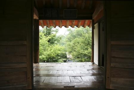 Traditional houses in south korea,soswaewon Stock Photo