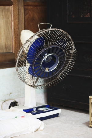 reminisce: Traditional props in South Korea,Electric fan