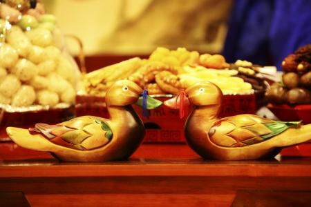 韓国伝統結婚式