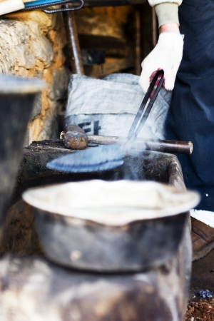 reminisce: Traditional cultural in South Korea,Blacksmith,Craftsman