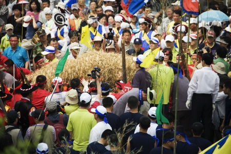 traditional festivals: traditional festivals in south korea,Bupyeong Pungmullori Festival  Editorial