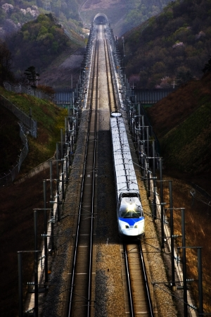 High Speed Rail in south korea, ktx