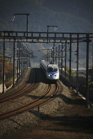 高速鉄道、韓国 ktx で