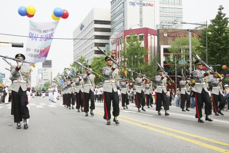 traditional festivals: Traditional festivals in south korea , Seoul  Festival parades