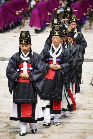traditional festivals: Traditional festivals in south korea, Jongmyo  Rituals