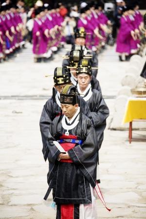traditional festivals: Fiestas tradicionales en corea del sur, Jongmyo Rituales