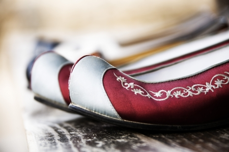 Traditional shoes of Korea,kkotsin'' photo