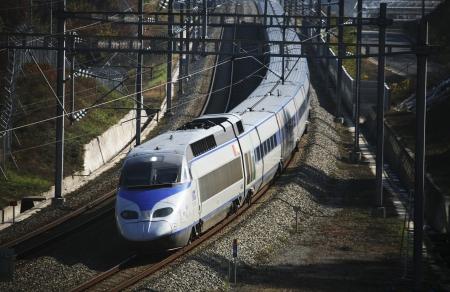 韓国 ktx 高速鉄道