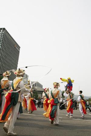 traditional festivals: Fiestas tradicionales en corea del sur, desfiles Festival Se�l