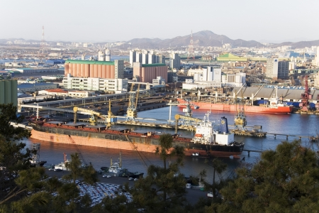 incheon: Beautiful harbor in south korea,Incheon harbor