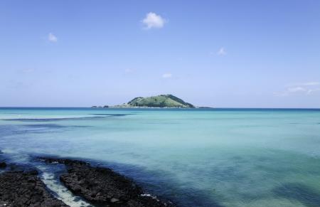 beautiful Jeju  Island in South Korea