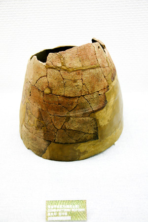 cultural artifacts: Neolithic pottery artifacts of Korea