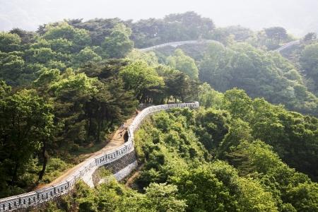 """historische: Historische wijk in Zuid-Korea, Kasteel Namhansanseong """""""" Stockfoto"""