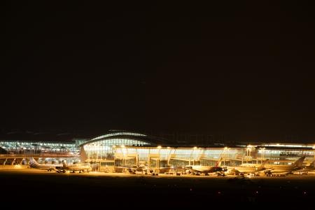 incheon: Incheon  International Airport in South Korea  Editorial