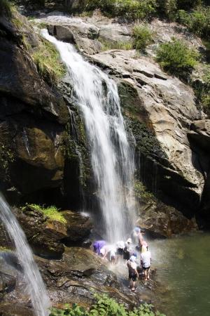 sweltering: Beautiful summer landscape in South Korea,Surak falls