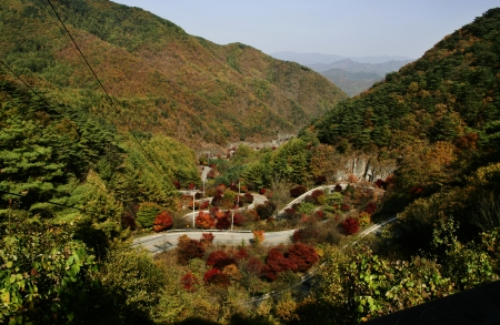Beautiful landscape in South Korea,Bobaljae  photo