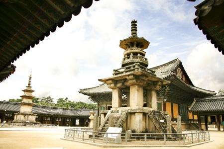 韓国、慶州で美しい都市仏