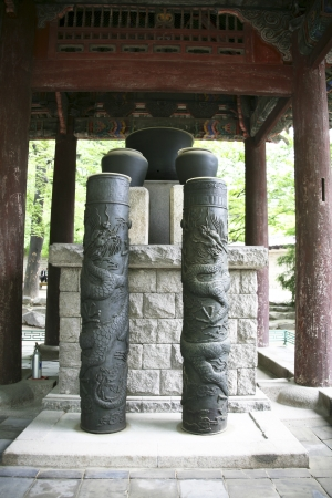 Traditional artifacts clock in South Korea,water clock