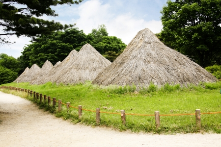 neolithic: Neolithic sites in south korea, Stock Photo