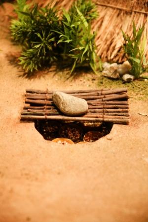 neolithic: Modelo cazador neol�tico en corea del sur