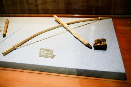 neolithic: Neolithic remains in South Korea Stock Photo