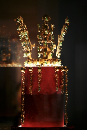 Relic in South Korea,Crown photo