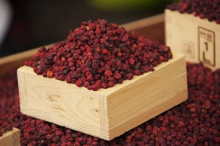 lycium: traditional market in south korea,Herb, Lycium