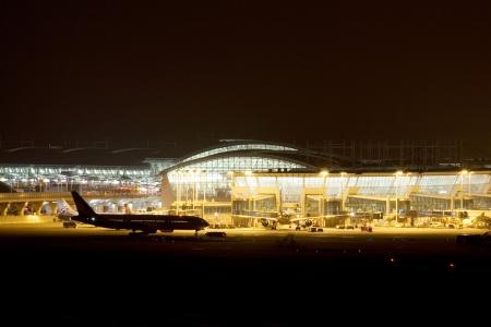 Incheon International Airport in South Korea Stock Photo