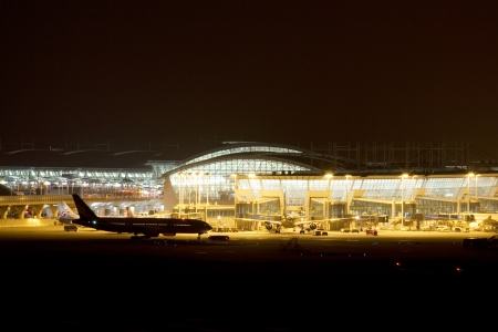 incheon: Incheon International Airport in South Korea Stock Photo