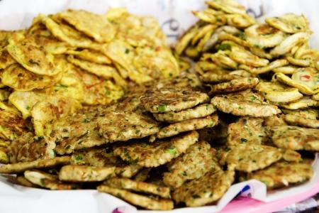 チヂミ、韓国の伝統食」 写真素材