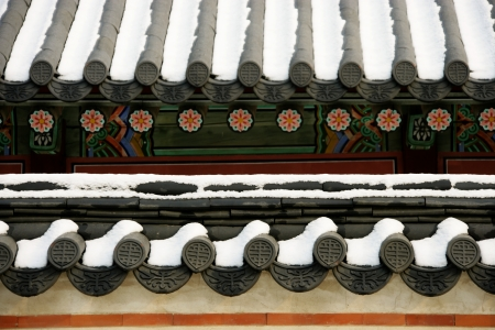 Gyeongbokgung Palace in South Korea photo