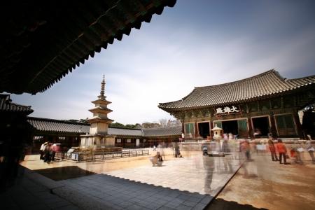 韓国における仏国寺 報道画像